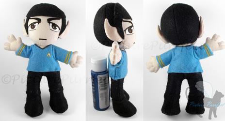 KumoriCon Commission: Spock Plushie