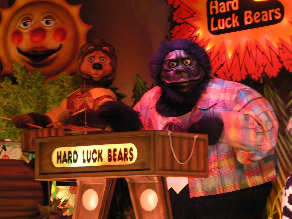 Hard Luck Bears By Fazbearengineering On Deviantart