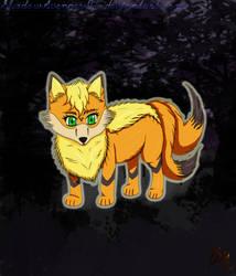 Vixy the Fox-Contest Entry for yuukiXakira by ShadowAvenger94
