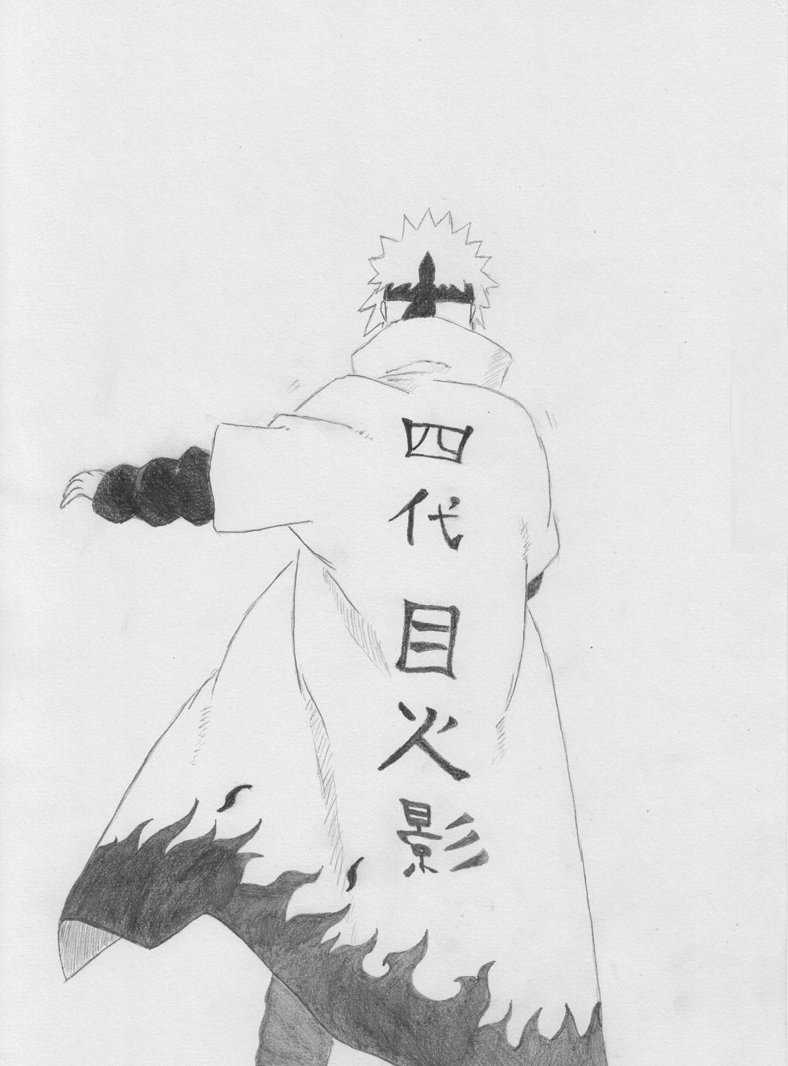Minato Namikaze by nightmare333 on DeviantArt