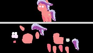 Pointy Ponies: Spectrum Scarlet