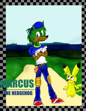 New Marcus the Hedgehog by Marcusthehedgehog