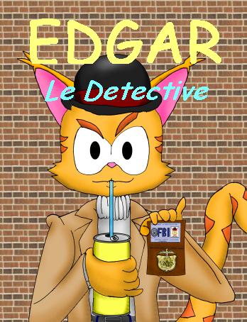 Edgar Le Detective by Marcusthehedgehog