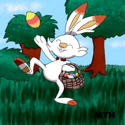 Easter Scorbunny