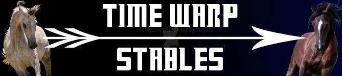 Time Warp Stables Club Banner by jlryanhorses