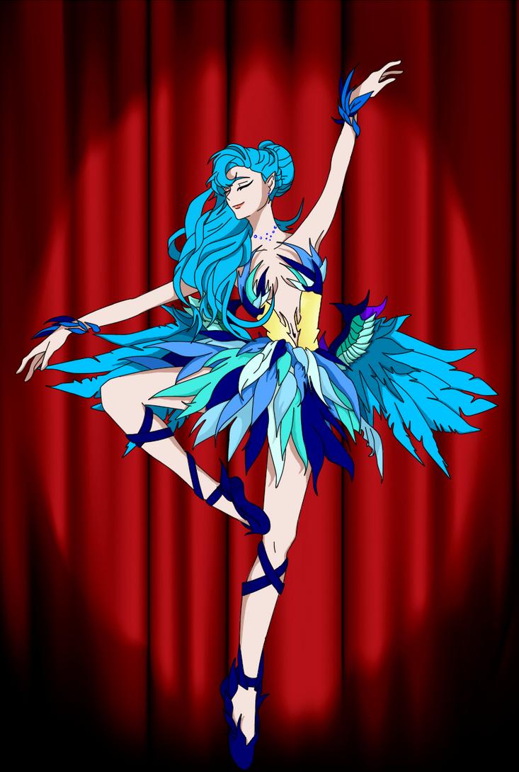 Le phoenix dansant by xSilveria