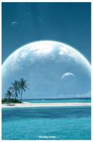Paradise Island by jiwwy-ast