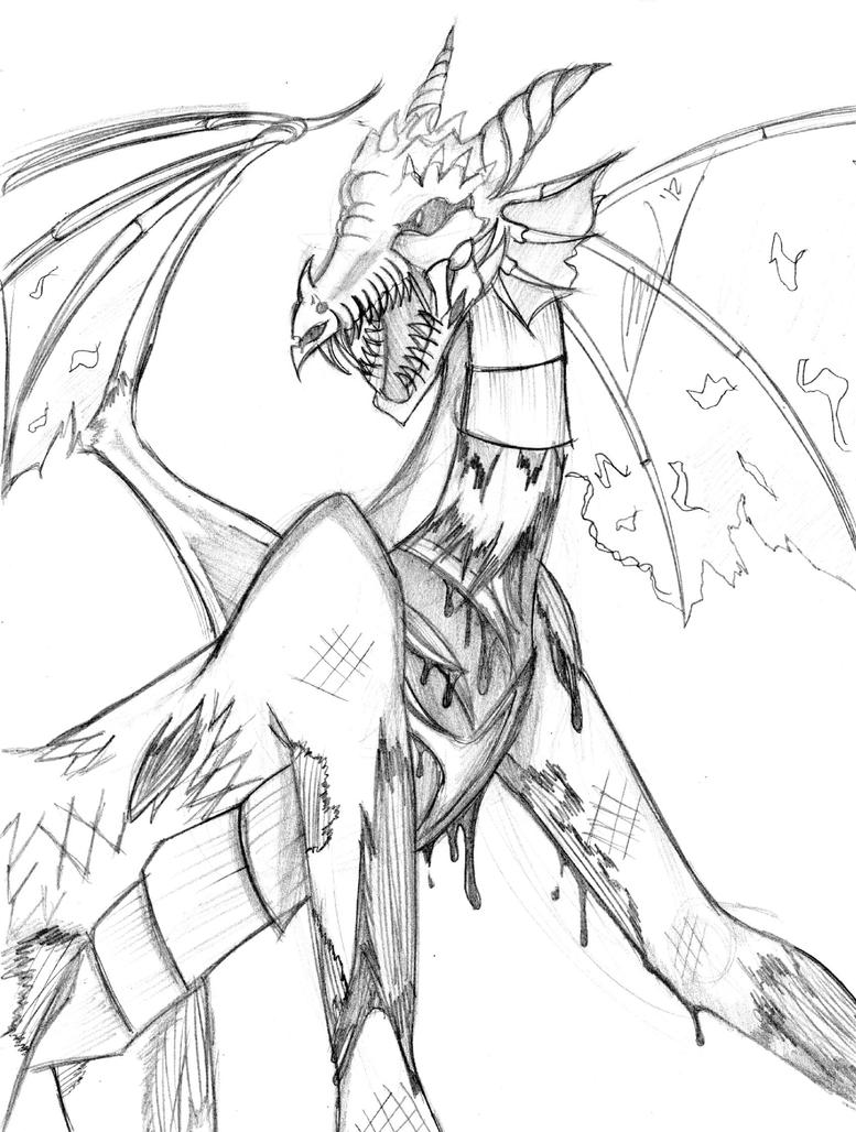 demon dragon coloring pages - photo#18