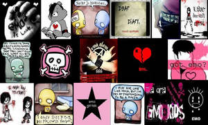 Emo Wallpaper by dying2getaway