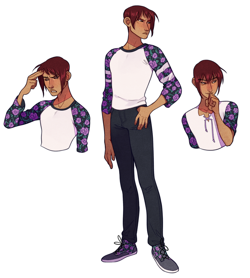 Cute Boy Character Design : Commishzone by sandflake adoptables on deviantart