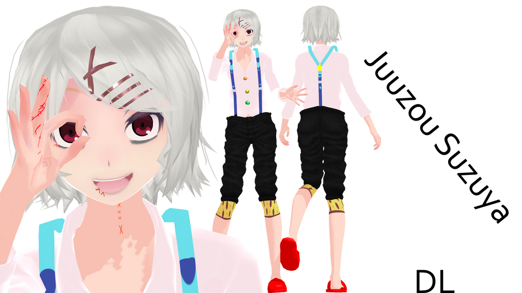 Anime Characters For Gmod : Mmd juuzou suzuya dl by evergreengem on deviantart