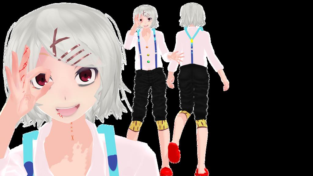 Anime Characters For Gmod : Mmd juuzou suzuya dl by evergreengem on deviantart
