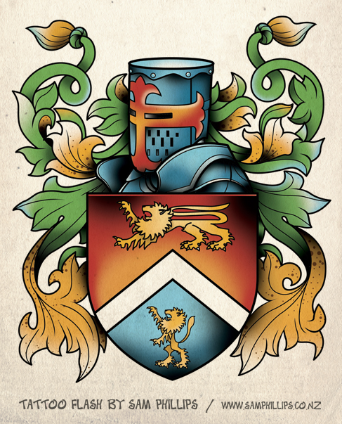 My family crest, I got it