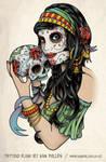 Gypsy and sugar skull