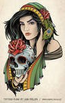 Beautiful Gypsy Tattoo