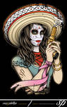 Mexican Day of the Dead Girl