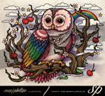 Owl-back-tattoo-cherrys