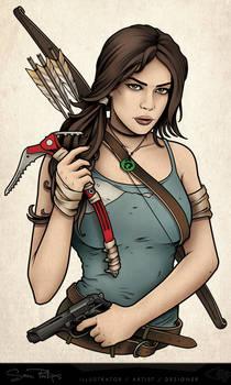 Tomb Raider Tattoo Lara Croft