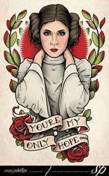 Princess Leia Tattoo Star Wars