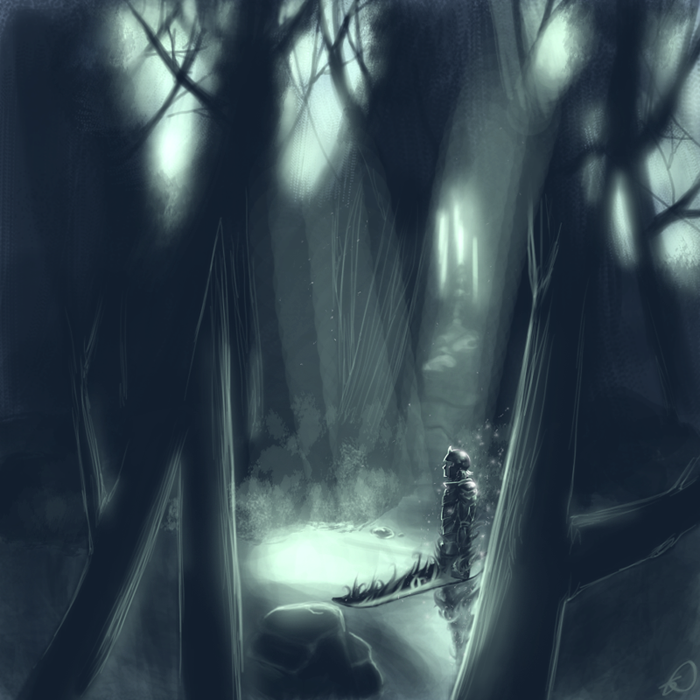 Spirit Warrior by ScarletDusk
