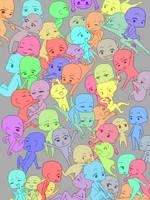 Way too many rainbow nude kids