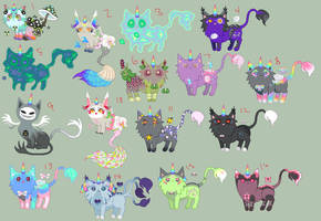 Kitties up for sale/trade by Elevera