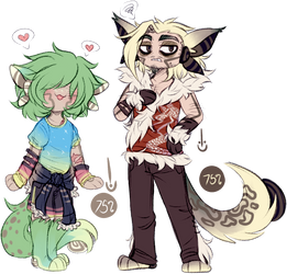 Aerolin MYOs - Kiwi n Hyena