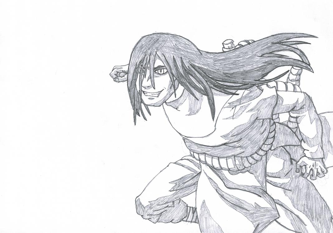 Orochimaru - Naruto by GeijutsuCentral