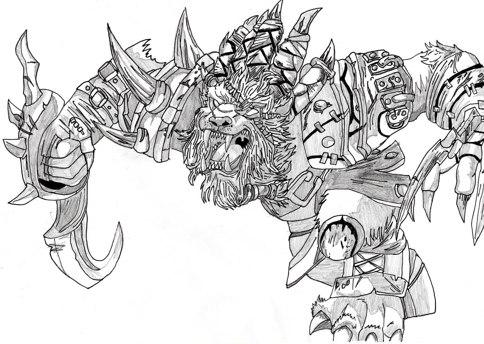 Rengar, The Pridestalker - League of Legends by ...
