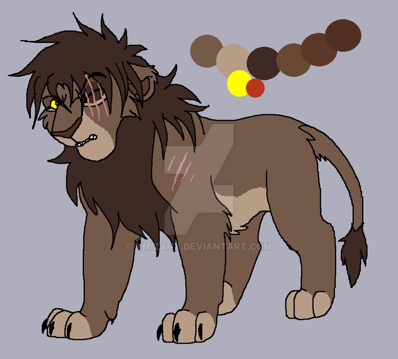 Lion design for Rinjapine by XMizanX on DeviantArt