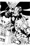 Batman Pinup Ink