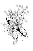 Deadpool Ink by Yangsberg