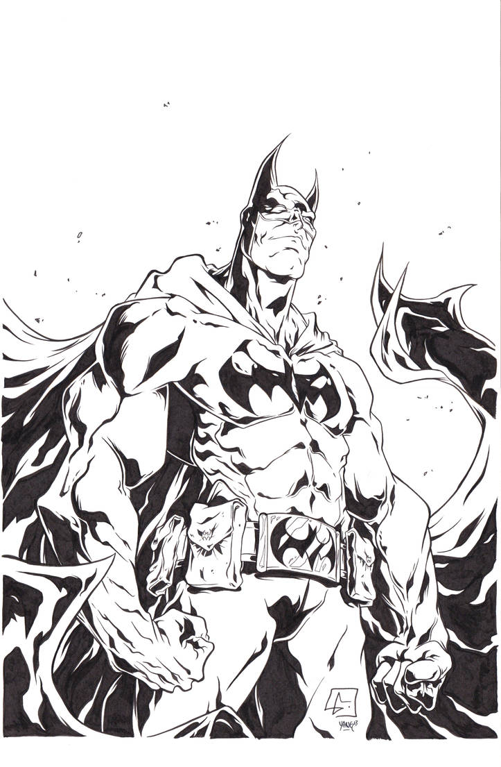 Batman Ink by Yangsberg