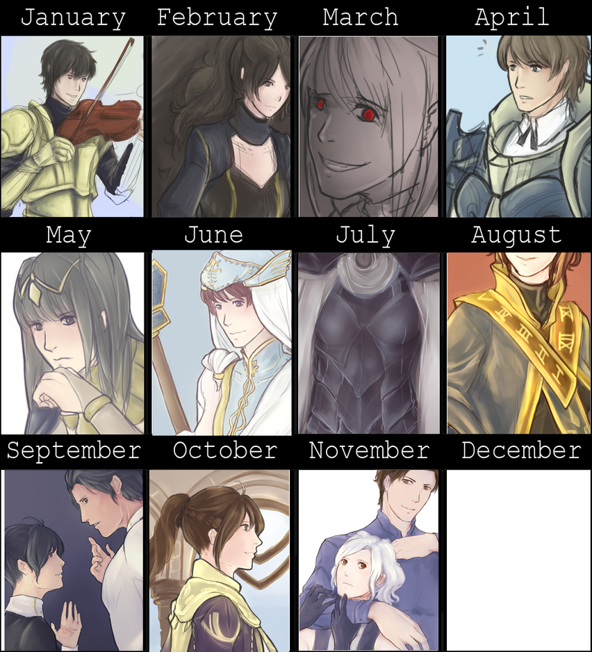 Improvement, minus december because fuck the rules by Toshiyaaa