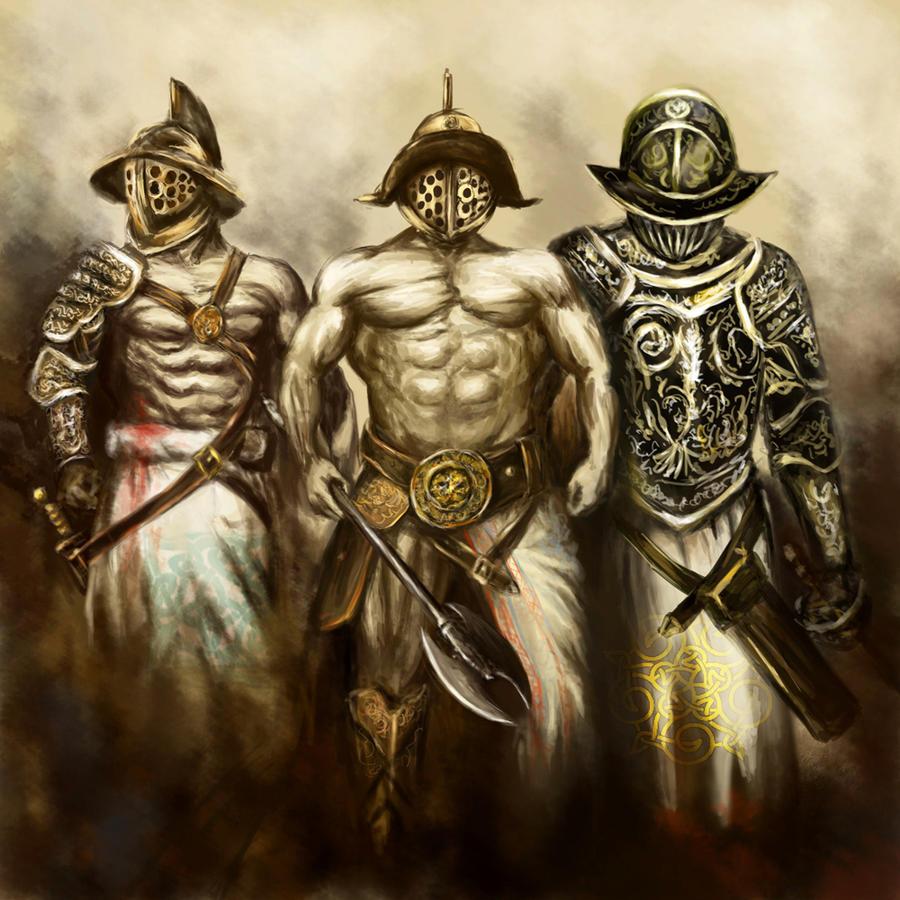 http://fc03.deviantart.net/fs50/i/2009/265/5/0/Gladiators_by_OctavianBene.jpg