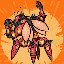 Pokecember 2017 - day 13 - Fave bug type