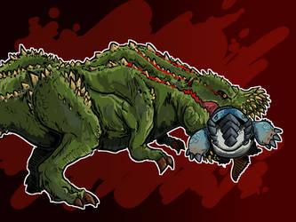 A mean pickle bullying a good boy. by RadicalGator