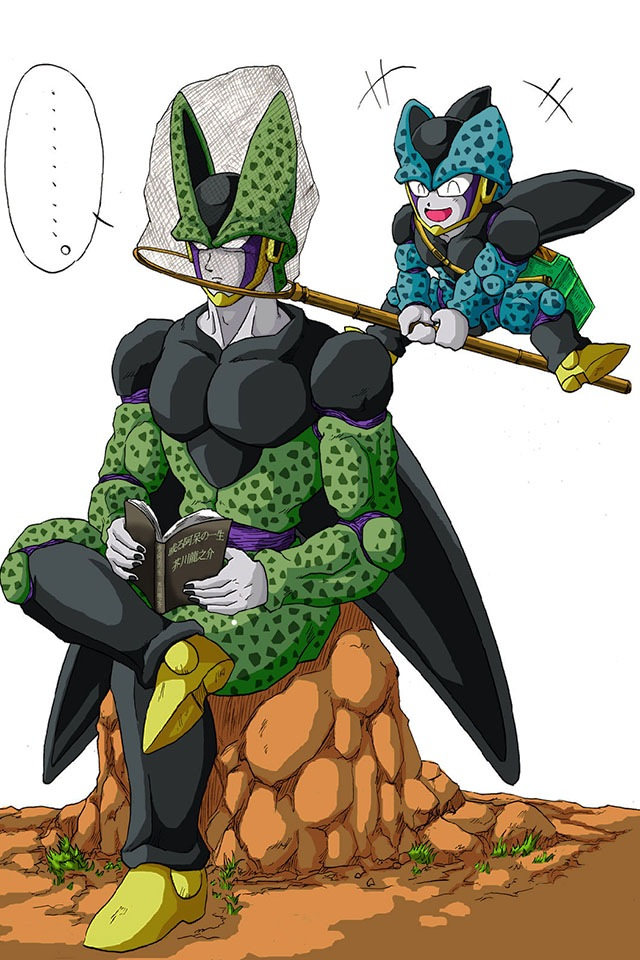Cell jr drawings
