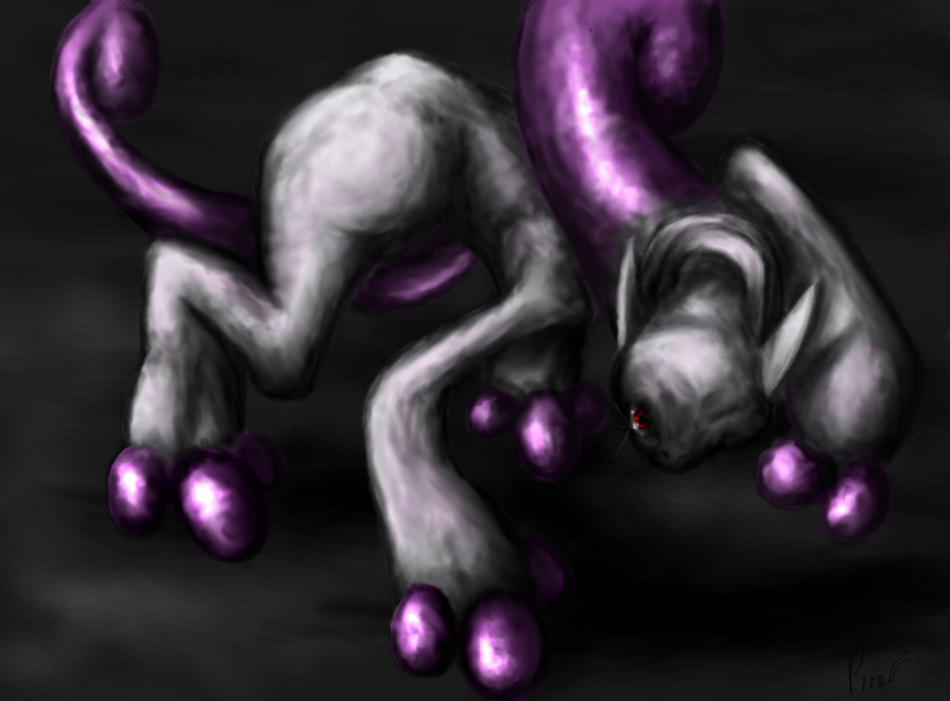 Mewtwo New Form by pokePiterr on DeviantArt