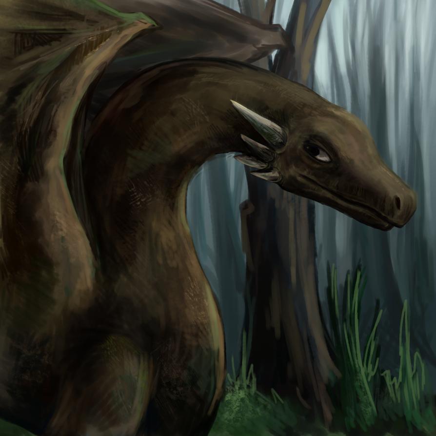 Dragon speedpaint by pokePiterr
