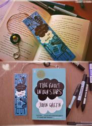TFIOS bookmark by ieroslaugh