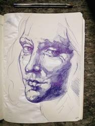 copy from Leonardo Da Vinci's study by ieroslaugh