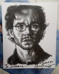 Will Graham - SIGNED!! by ieroslaugh
