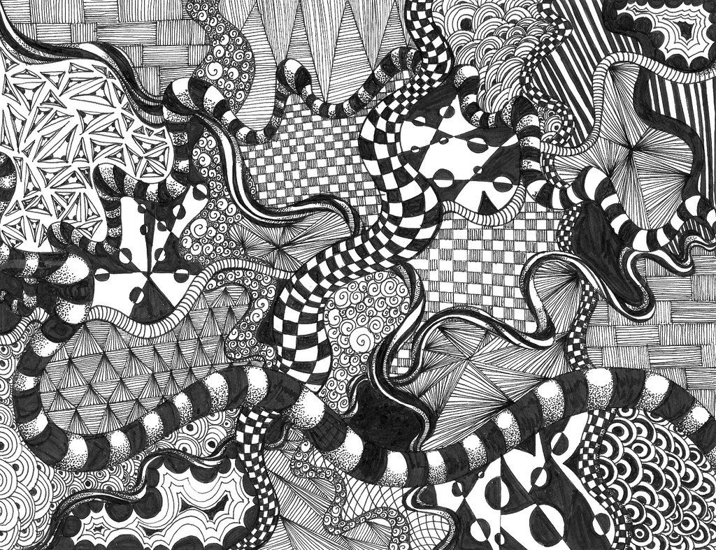 Zentangle By Elementjhedren On DeviantArt