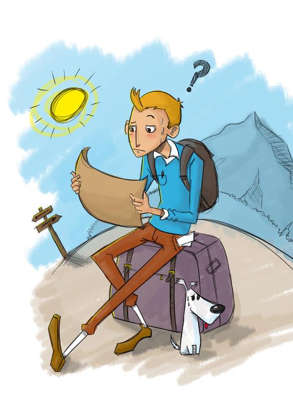Tintin by DOGiukas