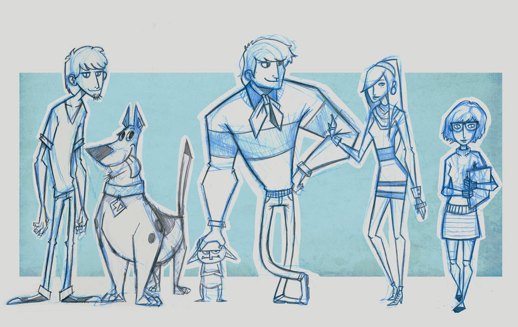 Scooby Crew by DOGiukas