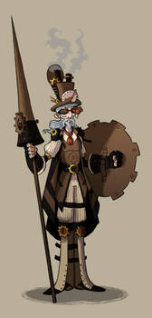 Don Quijote Steampunk