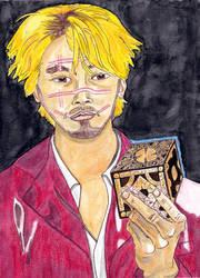 Kakihara and Lemarchand's Box (Ichi the Killer)
