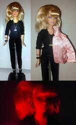 Custom Grease 2 Barbie -- Stephanie Zinone