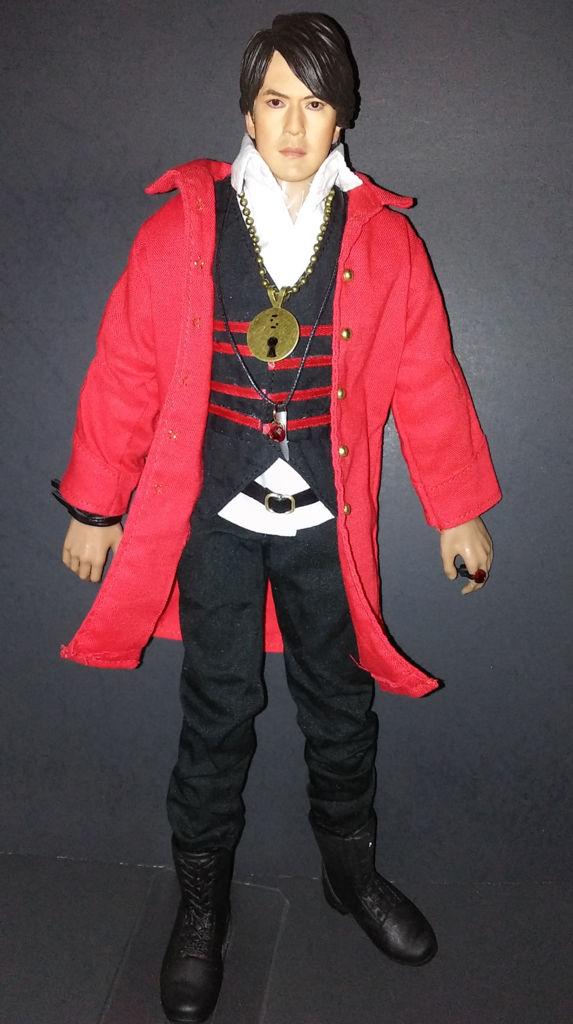 Custom Captain Marvelous 1/6 figure (Gokaiger)